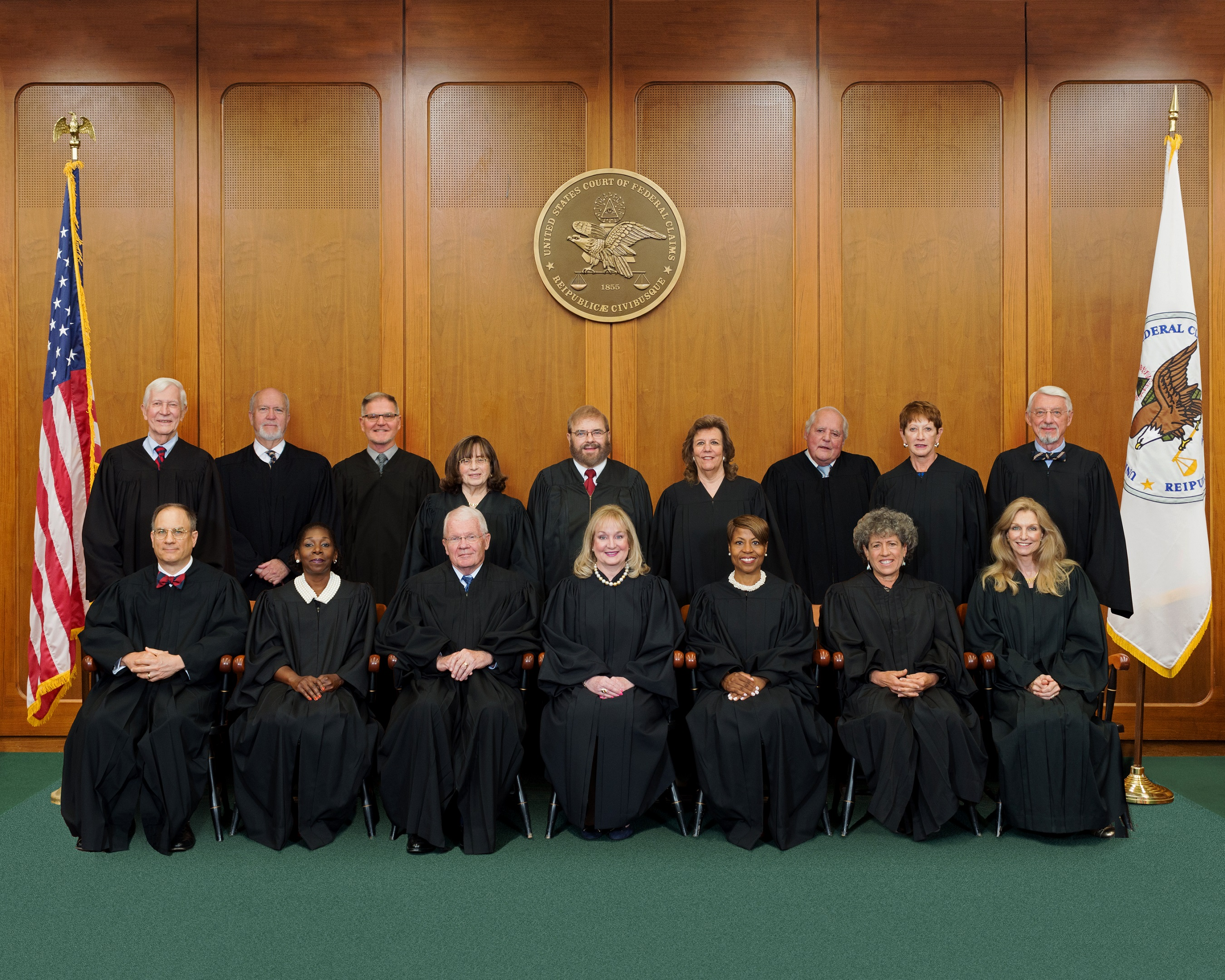 Judges of the United States Court of Federal Claims - 2018