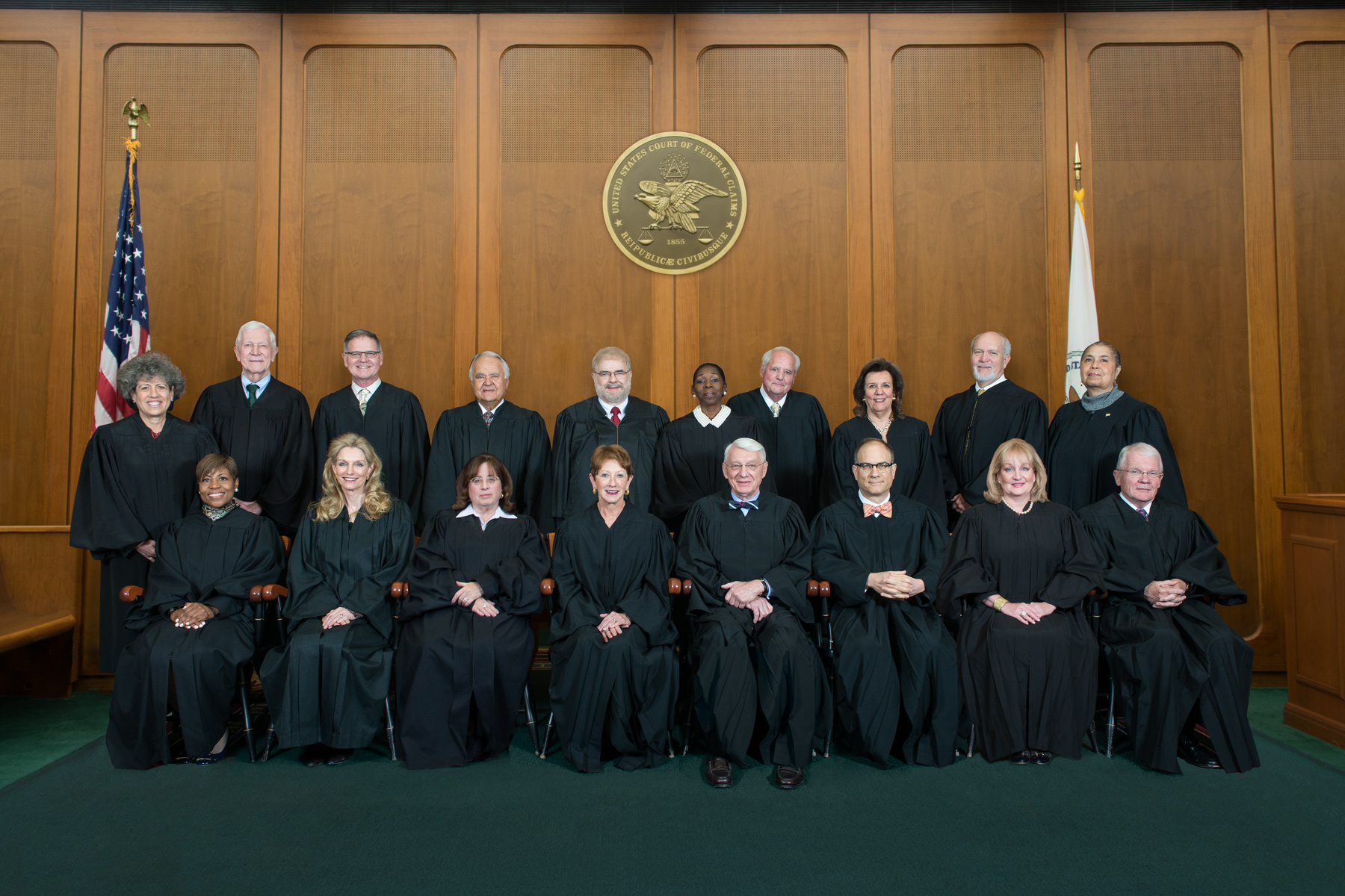 Judges of the United States Court of Federal Claims - 2017